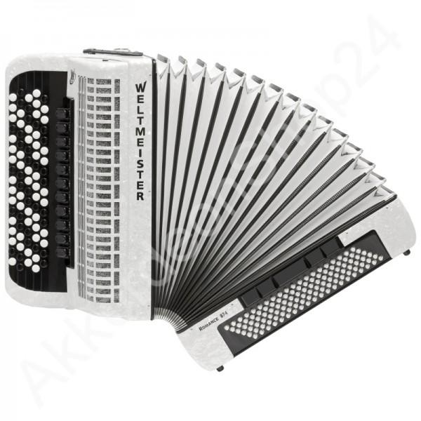 Knopfakkordeon-Romance-874-weiß
