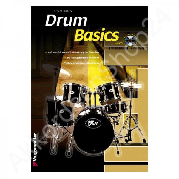 Drum Basics (mit CD)