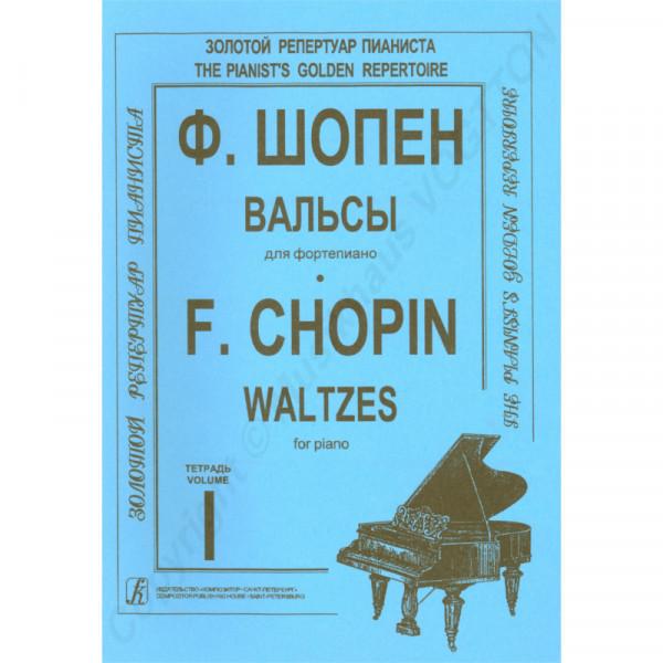 Frederic Chopin Walzer für Klavier, Heft 1, Herausgeber K. Mikuli