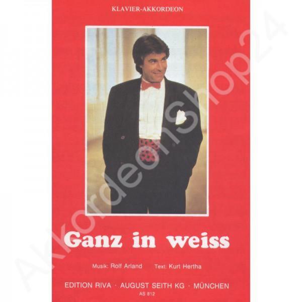 Ganz in Weiss