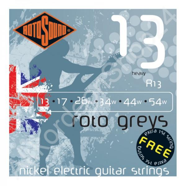 Rotosound E-Gitarren Saiten R13 13-54