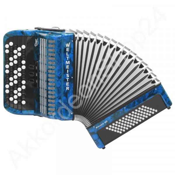 Weltmeister Romance 602 60/72/II/3 - blau