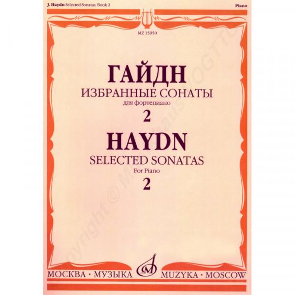 Haydn Joseph. Ausgewählte Sonaten für Klavier. Buch 2