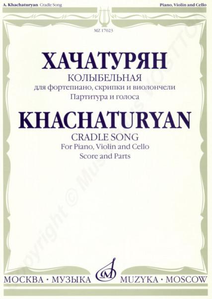 Aram Chatschaturyan Wiegenlied für Klavier, Violine und Cello