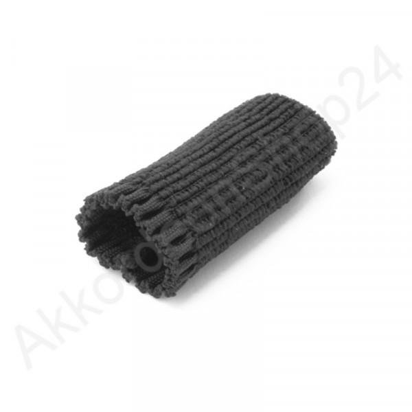 Schnallenschutz 5,5 cm für Tragriemen, schwarz