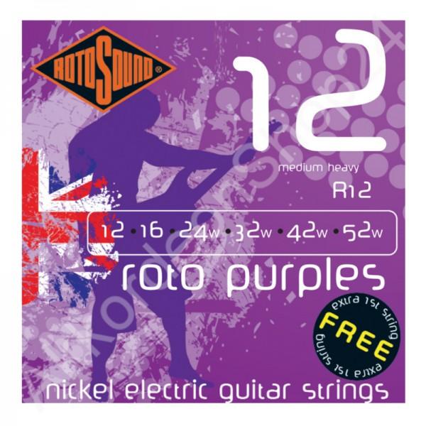 Rotosound E-Gitarren Saiten R12 12-52