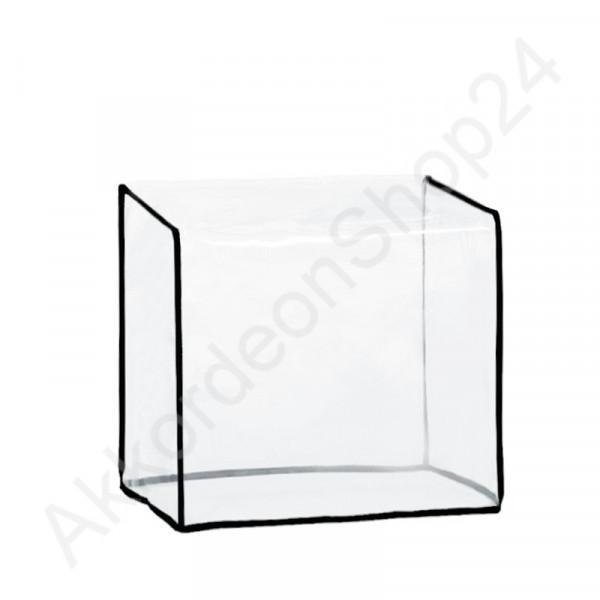 Staubschutzhülle 310x310x210 mm für Harmonikas, transparent