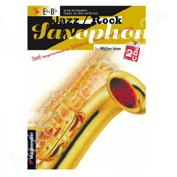 Jazz / Rock Saxophon Eb+Bb (mit 2CDs)