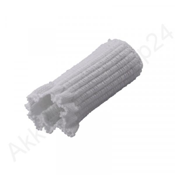 Schnallenschutz 5,5 cm für Tragriemen, weiß