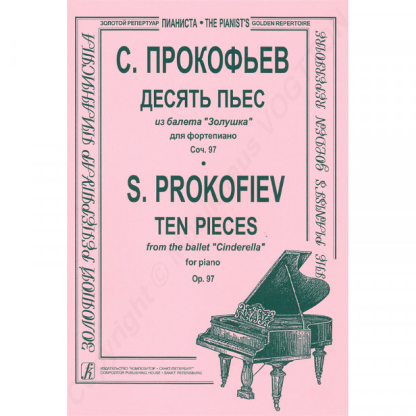 """Sergej Prokofiew 10 Stücke aus dem Ballett von """"Cinderella"""" op. 97"""