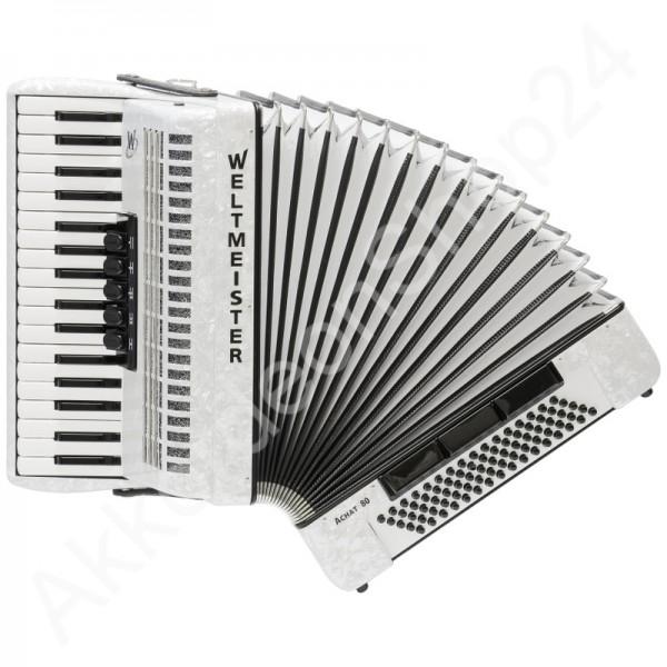 Akkordeon-Weltmeister-Achat-80-weiß