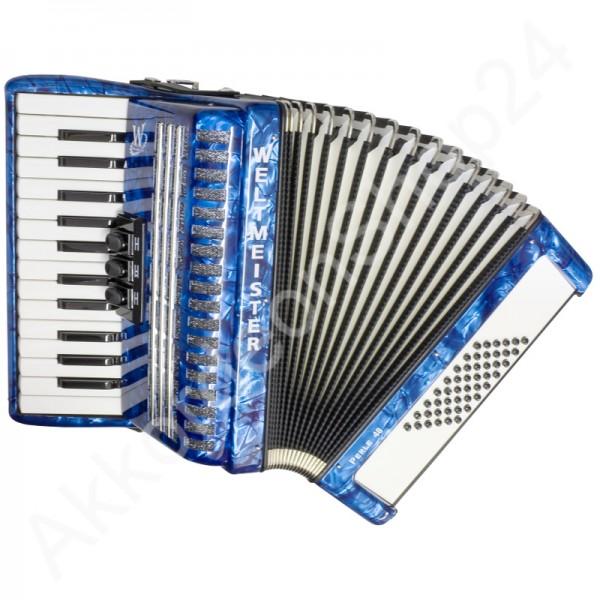 Akkordeon-Perle-blau