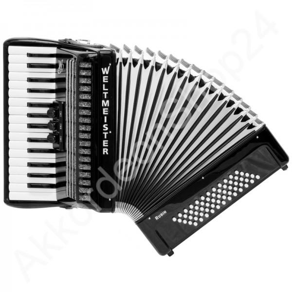 Akkordeon-Rubin-schwarz