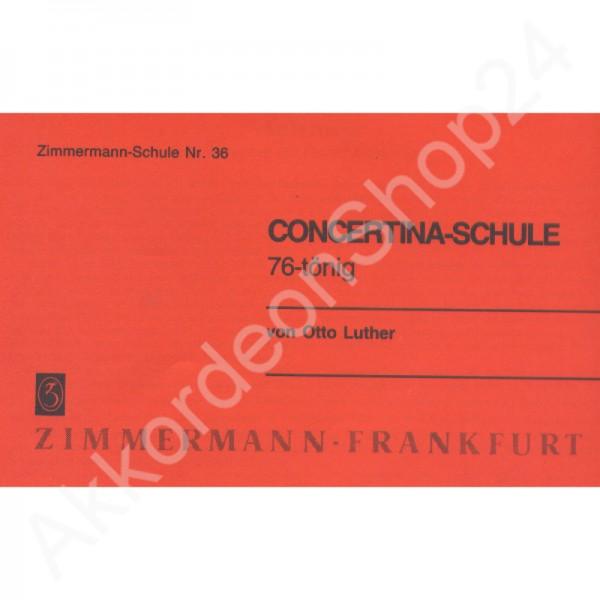 Concertina-Schule - 76-tönig