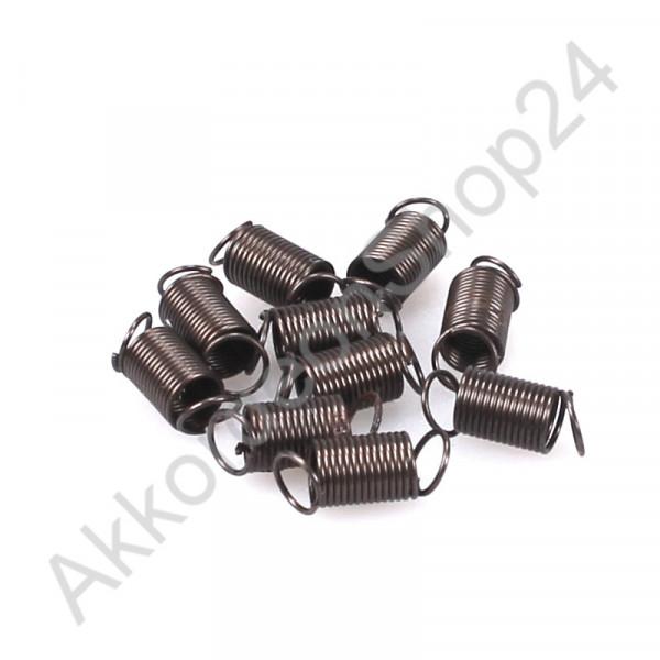 10Stk. Ø5x7mm Diskant Spiralfeder
