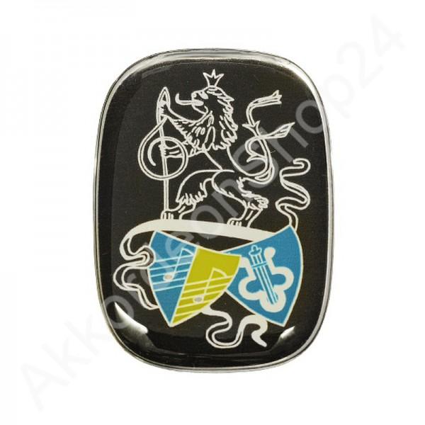Weltmeister-Emblem-silber