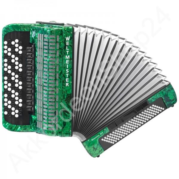 Knopfakkordeon-Romance-874-grün
