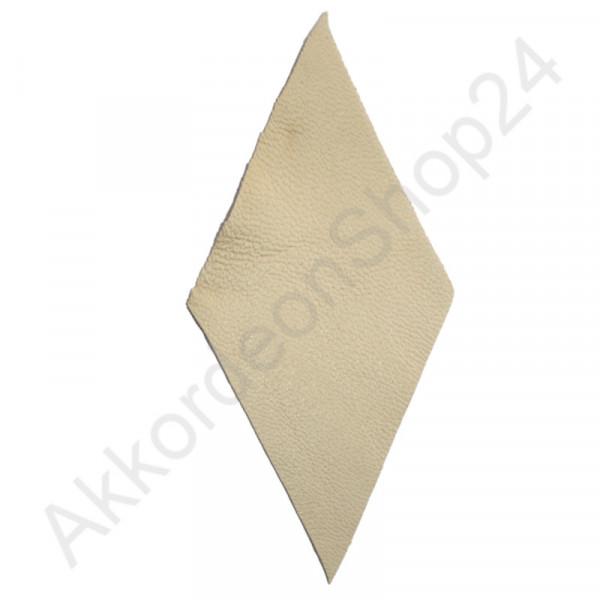 10Stk. Akkordeon Balg Lederecken 94x48 mm, beige