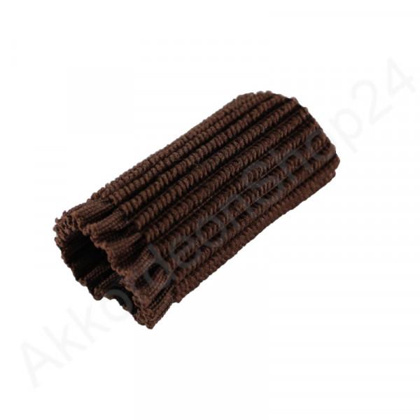 Schnallenschutz 5,5 cm für Tragriemen, braun