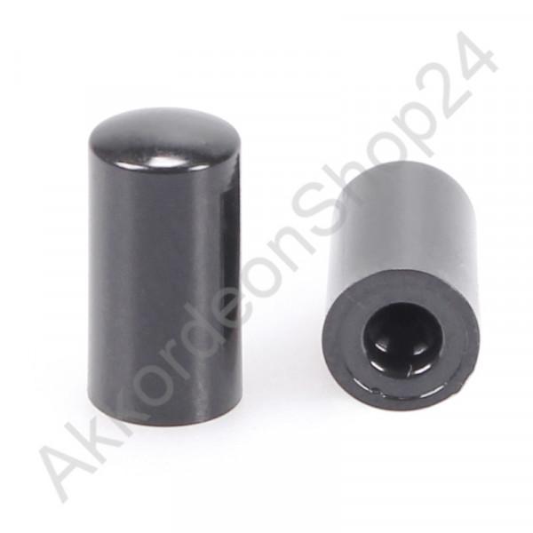 Luftknopf 14 x 7mm - schwarz