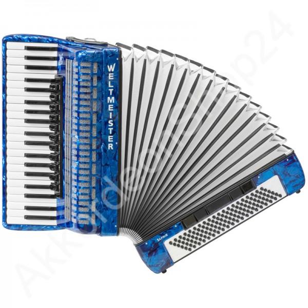 Akkordeon-Saphir-blau