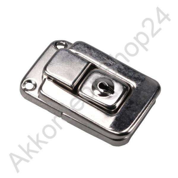54x34x12mm Kofferschloss abschließbar vernikelt