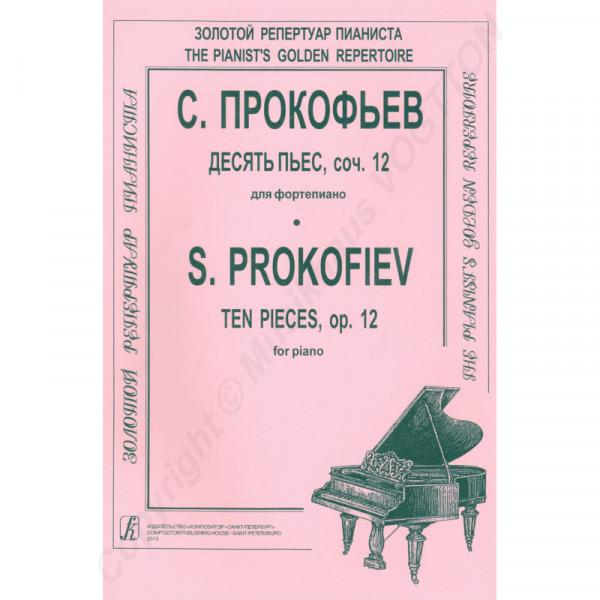 Sergej Prokofjew Zehn Klavierstücke op. 12