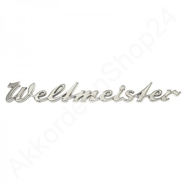 Schriftzug-WELTMEISTER