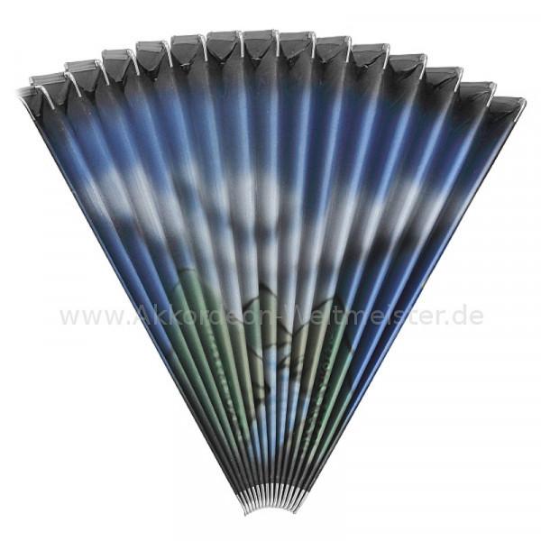 Airbrush-Akkordeon-Balg Motiv 1