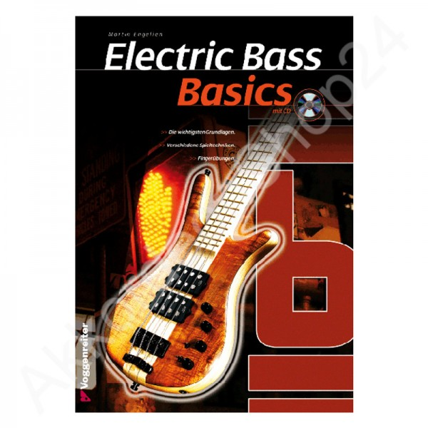 Basics Electric Bass (mit CD)