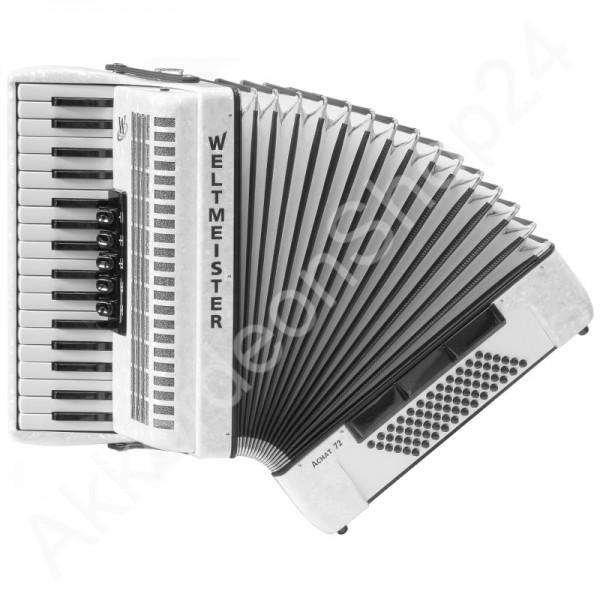 Akkordeon-Weltmeister-Achat-72-weiß
