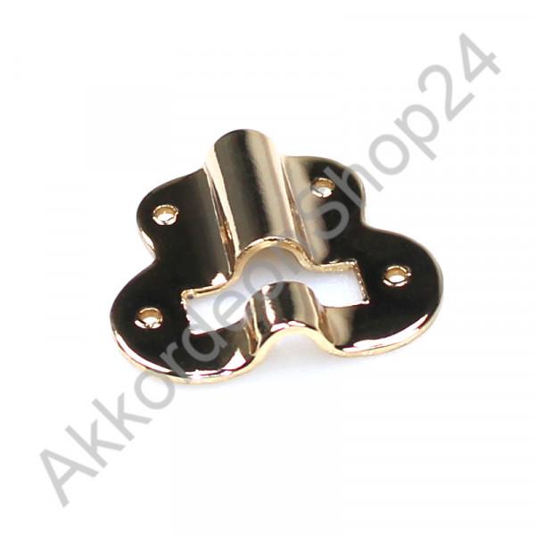 Metallplatte für Verstellmechanismus, Farbton Gold