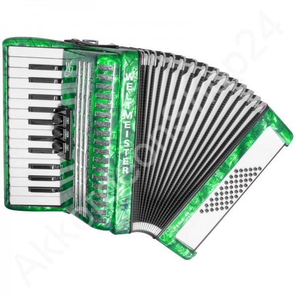 Akkordeon-Perle-grün