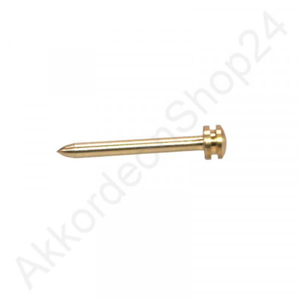 2,0x22mm Balgnagel Faconkopf - Farbton gold